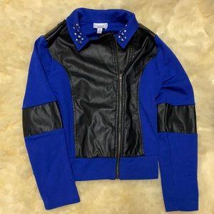 Disney D-signed Special edition blue moto jacket
